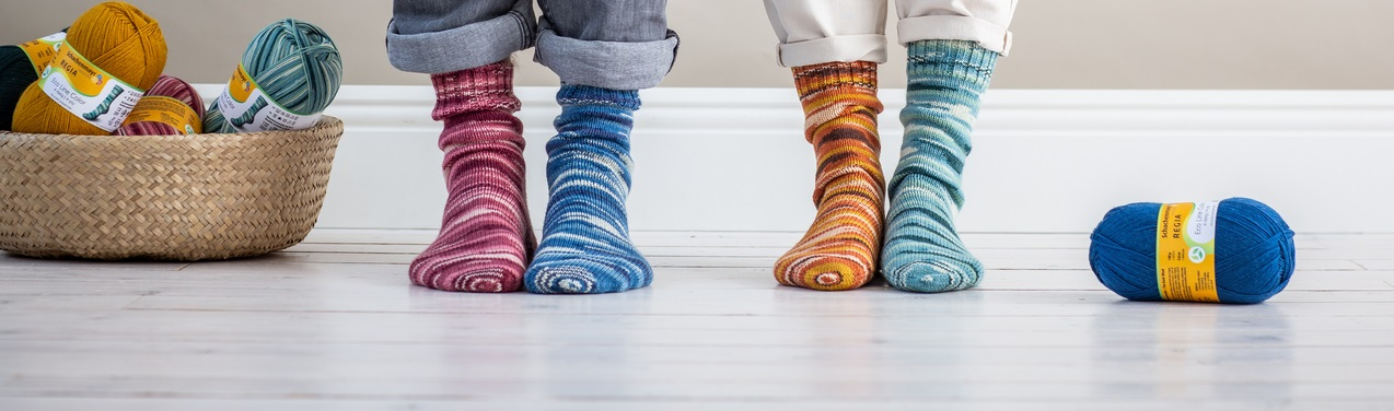 Sockenwolle günstig online bestellen und im Wollstudio Paket Mix sparen