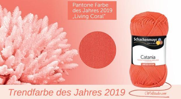 Pantone Trendfarbe Des Jahres 2019 Living Coral