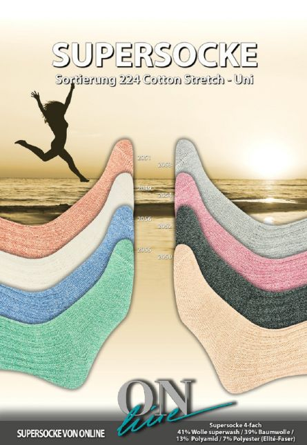 Cotton-Stretch UNI ONline Sortierung 224