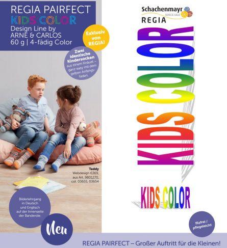 Regia Pairfect Kids Color Arne+Carlos