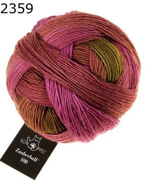 Zauberball 100 von Schoppel 100g  Farbe 2245 Sofaecke Wolle