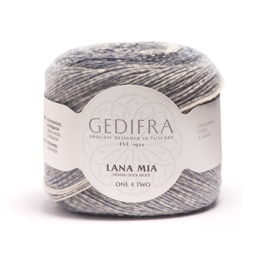 Lana Mia GEDIFRA Garn one 4 two sockenwolle 100 g
