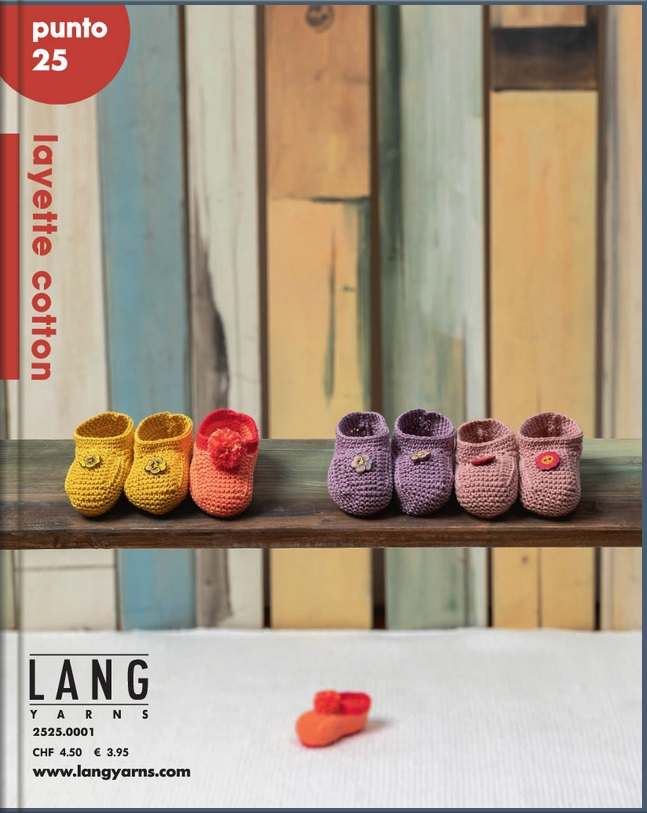 Lang Yarns Punto 17  Layette  Strickmodelle Gr 56-80