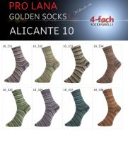 Alicante 10 Golden Socks Pro Lana