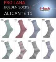 Alicante 11 Golden Socks Pro Lana