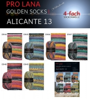 Alicante 13 Golden Socks Pro Lana