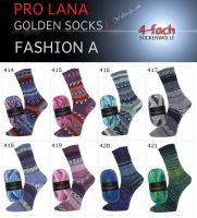 Fashion A Golden Socks Pro Lana