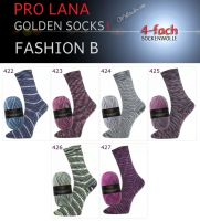 Fashion B Golden Socks 4f Pro Lana