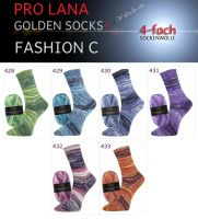 Fashion C Golden Socks 4f Pro Lana