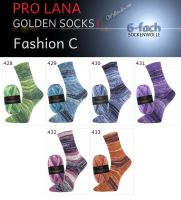 Fashion C Golden Socks 6f Pro Lana
