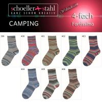 Fortissima Camping Color Schoeller Stahl