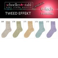 Fortissima Tweed Effekt Color Schoeller