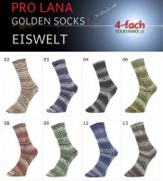 Golden Socks Stretch Eiswelt Pro Lana