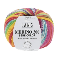 Merino 200 Bébé Color Lang Yarns