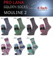 Mouline 2 Golden Socks Pro Lana