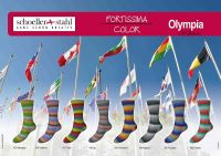 Fortissima Olympia Color Schoeller Stahl