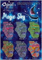 Opal Magic Sky Sockenwolle