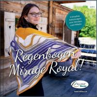 Regenbogen Mirage Royal Strickanleitungen