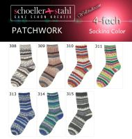 Sockina Color Patchwork Schoeller